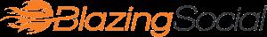blazing social logo